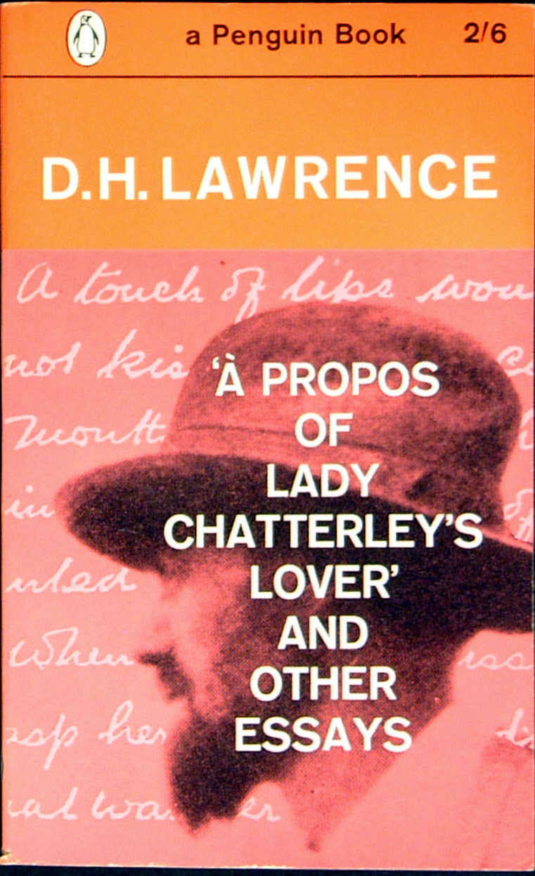 a propos of decisive chatterley gait and other betimes