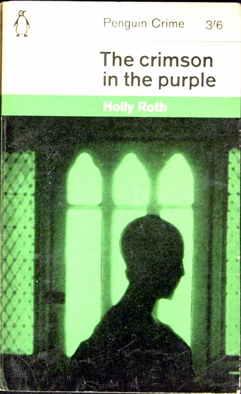The crimson in the purple cover