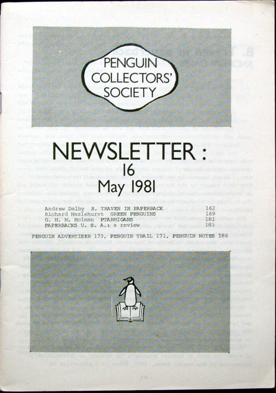 Newsletter: 16